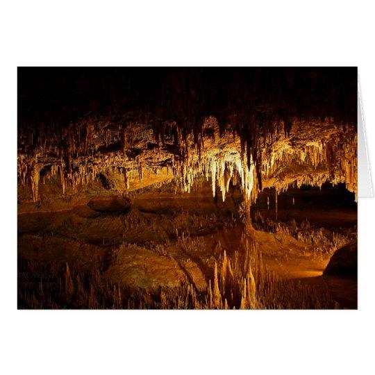 Underground Lake Card