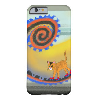 Underground skating cat barely there iPhone 6 case