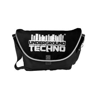 Underground Techno - Bag Messenger Bag
