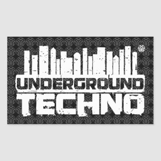 Underground Techno - Sticker