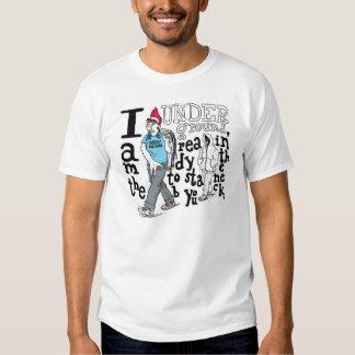underground tee shirt