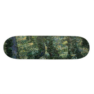 Undergrowth by Vincent Van Gogh 21.3 Cm Mini Skateboard Deck