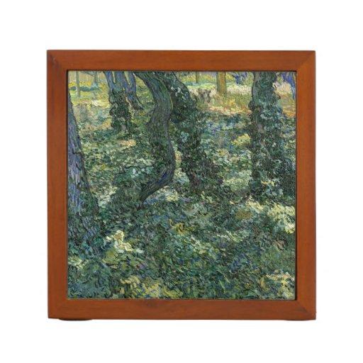 Undergrowth by Vincent Van Gogh Pencil Holder