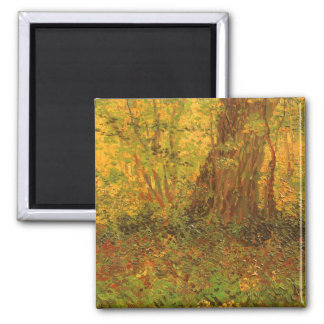 Undergrowth by Vincent van Gogh Refrigerator Magnet