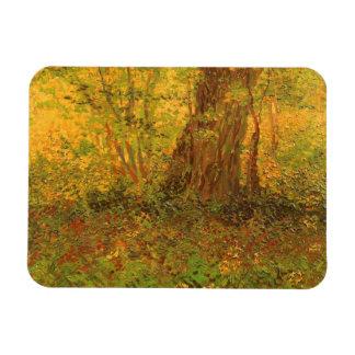 Undergrowth by Vincent van Gogh Rectangular Magnets