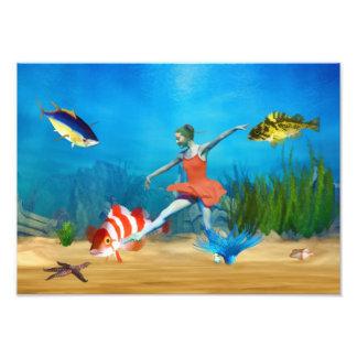 Undersea Ballet Photo Print