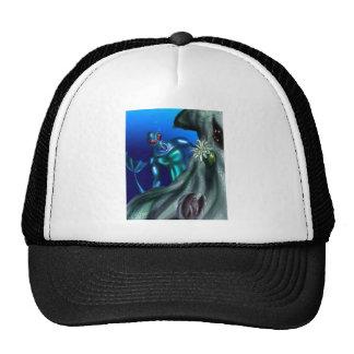 Undersea creature mesh hat