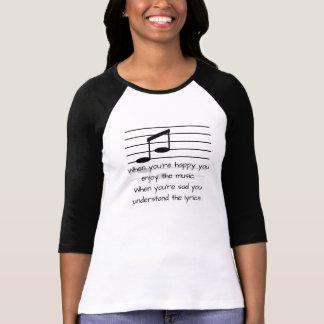 Understand the lyrics - Women's T-shirt fashion