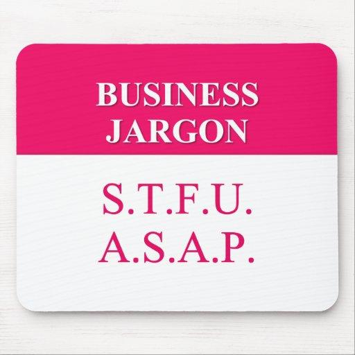 Understanding Business Jargon (2) Mouse Pad