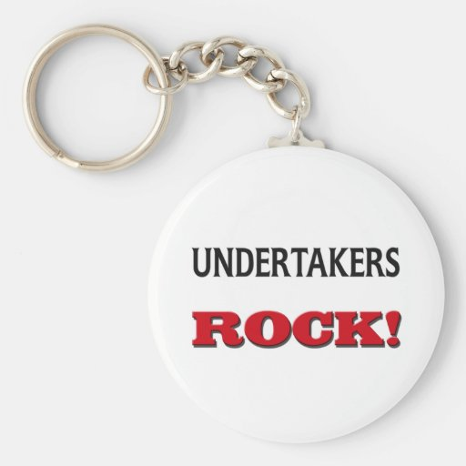 Undertakers Rock Key Chain