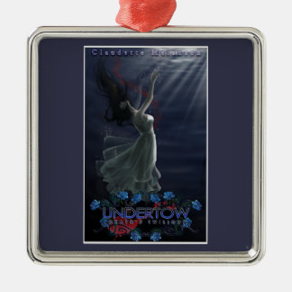 Undertow Cover Premium Square Christmas Ornament