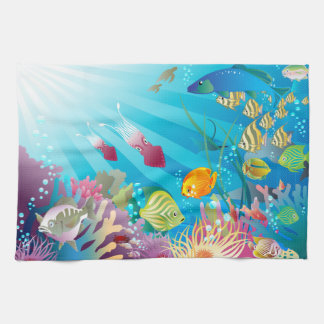 Underwater 2 Kitchen Towels