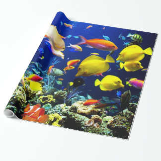 Underwater 5-6 Image Options Wrapping Paper
