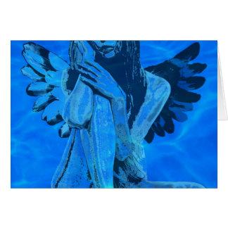Underwater angel card
