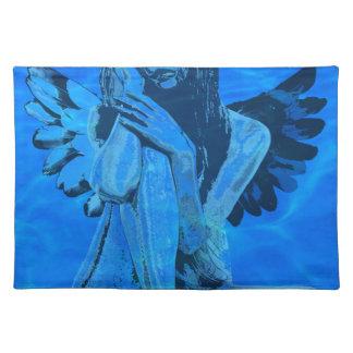 Underwater angel placemat