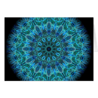 Underwater Beauty kaleidoscope Card