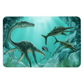 Underwater Dinosaur Flexi Magnet