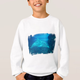 Underwater Dolphin Youth Sweatshirt