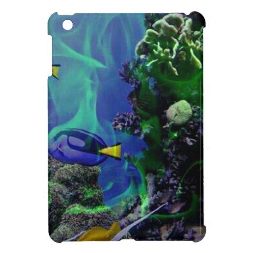 Underwater Fantasy World of fish iPad Mini Case