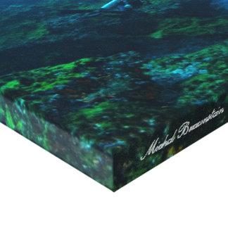 Underwater Fernando de Noronha, Brazil - Canvas Canvas Print