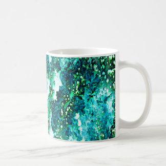 Underwater Forest (green) Coffee Mug
