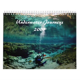Underwater Journeys 2009 Edition Wall Calendar