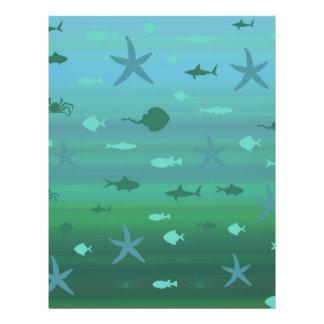 Underwater Life 21.5 Cm X 28 Cm Flyer