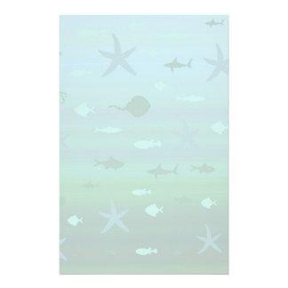 Underwater Life Custom Stationery