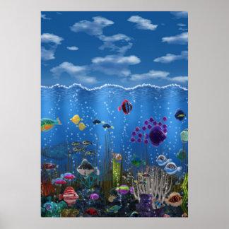Underwater Love - Poster
