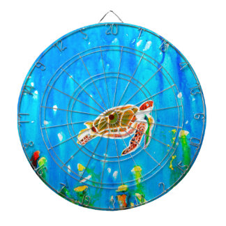 Underwater Magic 5-Happy Turtle excellent gift Dartboard
