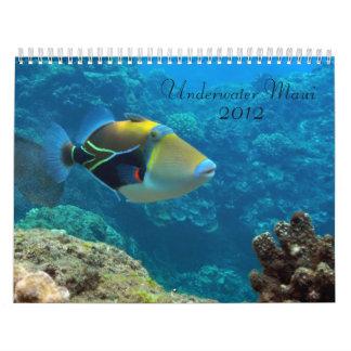 Underwater Maui Calendar