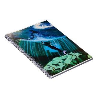 Underwater Mermaid by John Fermin Notebook