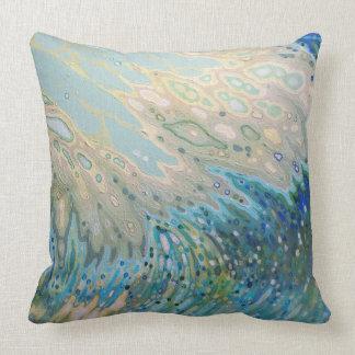 Underwater Ocean View Surf & Sand Decor Pillow