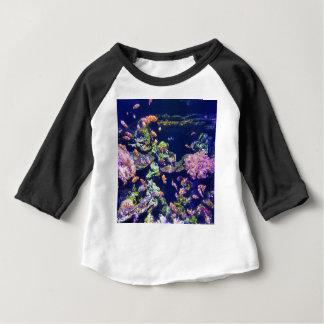Underwater Orange Clown Fish Around Coral Baby T-Shirt