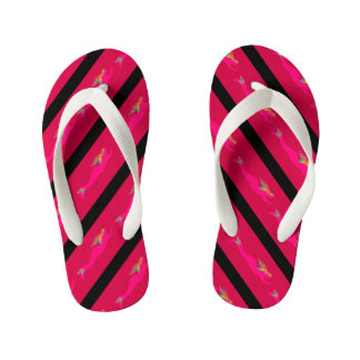 underwater pink mermaids striped thongs
