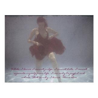 Underwater Portraiture Postcard
