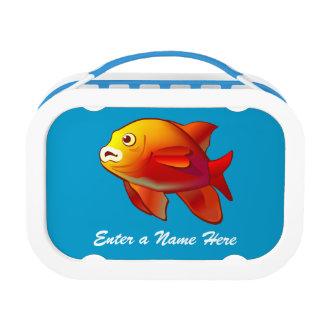Underwater scene lunchbox
