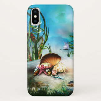 Underwater Sea Life iPhone X Case