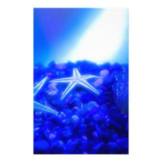 Underwater Starfish Stationery Paper