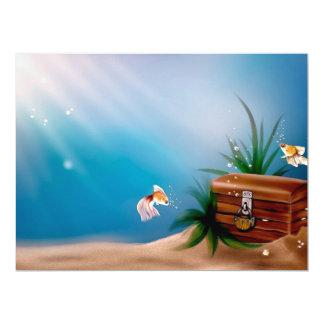 UNDERWATER TREASURE! (goldfish) ~ Card