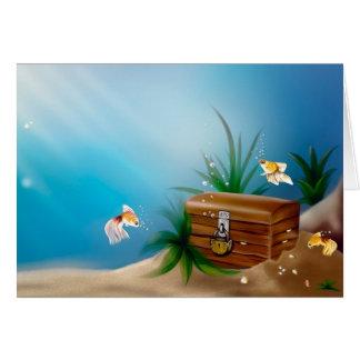 Underwater Treasures Card