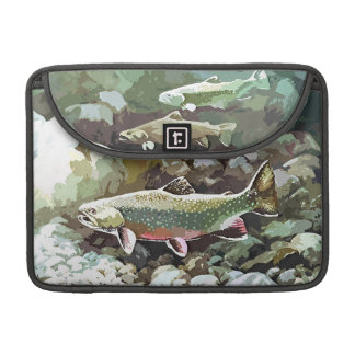 UNDERWATER TROUT SCENE SLEEVE FOR MacBooks