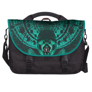 Underwater Turquoise Structure Bag Commuter Bag