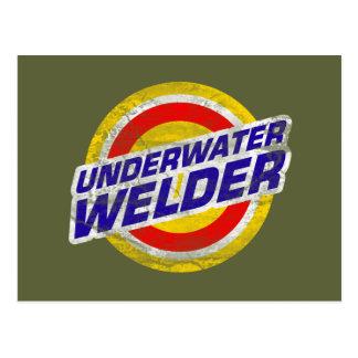 Underwater Welder Postcard