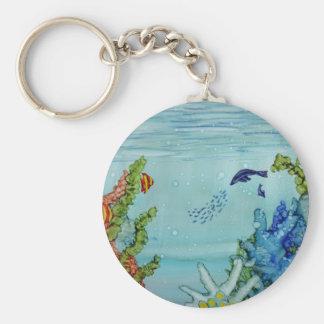 Underwater World #1 Key Ring