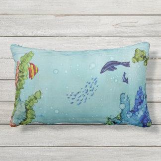 Underwater World #1 Outdoor Pillows