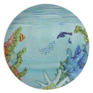 Underwater World #1 Plate
