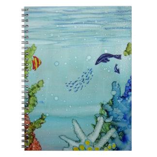 Underwater World #1 Spiral Notebook