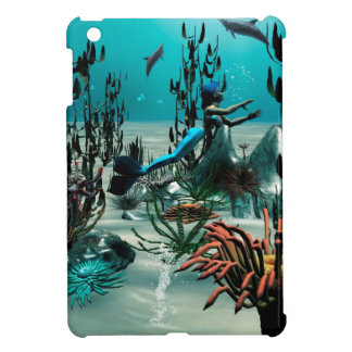Underwater world cover for the iPad mini