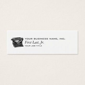 Underwood Typewriter Writer Mini Business Card